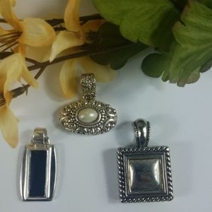 Fashion jewelry, Variety slides for necklaces